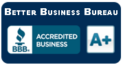 Better Businee Bureau A+ Rated